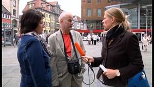Anja unterwegs: Flüchtlinge-was denken Sie?!