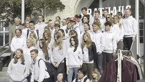 Polnische Schüler in Westerland - Sylt1 - Deutschland lokal September 2015