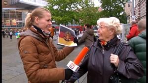 Anja Unterwegs mit einer Flagge und einer Frage?!