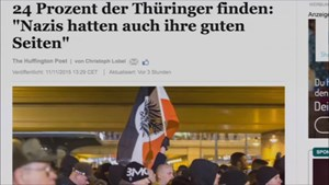 5x Thüringen - 1/4 Thüringens: »Nazis hatten auch ihre guten Seiten«