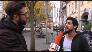 Wael Kojak unterwegs...(deutsch-arabisch)