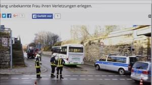 5x Thüringen - Folgenschwerer Busunfall in Weimar ...
