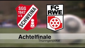 Glücksbrunn Schweina trifft auf Rot-Weiß Erfurt - SRF - Thüringen.TV
