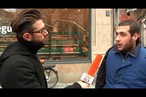 Kennen Flüchtlinge das Weihnachtsfest? - Wael Unterwegs