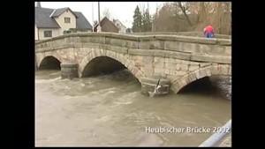 Bogenbrücke im Aufbau - SRF - Thüringen.TV