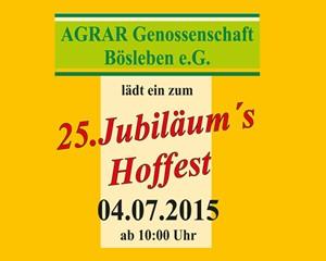Hoffest der Agrar Genossenschaft Boesleben