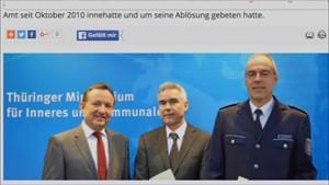 5 x Thüringen: neuer LKA-Chef in Thüringen...