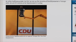 5x Thüringen - Thüringer CDU im Dilemma ...