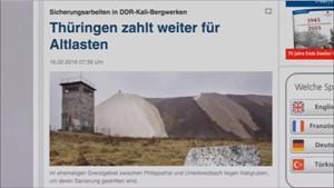 5x Thüringen - K+S ... Thüringen zahlt weiter