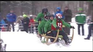 Hornschlittenrennen in Brotterode - SRF - Thüringen.TV