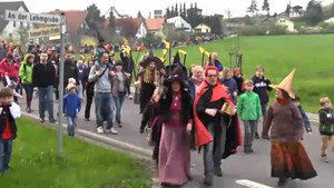Walpurgisnacht in Bergern - Bad Berka TV - Thüringen.TV
