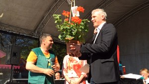 Erfurter Blumen- und Gartenmarkt eröffnet