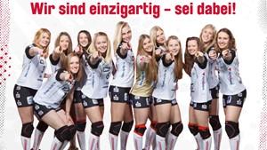 SWE Volleys mit Blick auf die 1. Bundesliga