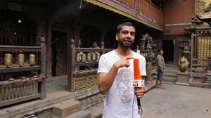 Salve Nepal: Ein Rundgang durch den goldenen Tempel.