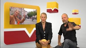 Anja Ulbricht im Studiotalk mit Peter Schulze-Sandow