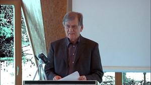 Das Ideal einer geeinten Menschheit - Vortrag von Prof. G. Rager