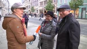 Was sagt der Erfurter Anger zu Trump als Präsident?