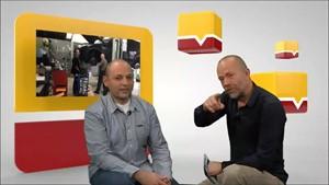 Michael Menger vom Autocenter Vogel im Studiotalk mit Peter Schulze-Sandow
