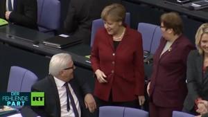 DER FEHLENDE PART: Merkel will´s nochmal wissen