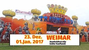 Circus Afrika gibt Weihnachtsgastspiel in Weimar