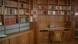Arbeitszimmer Henry Van de Veldes rekonstruiert