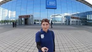 Tatjana on Tour auf der »Besser Leben« Messe in Erfurt