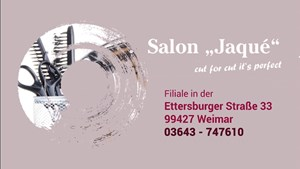 Salon Jaque in Weimar / Neueröffnung