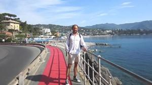 Max Martins Kuss-Wanderung entlang der Ligurischen Küste