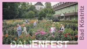 Dahlienfest in Bad Köstritz