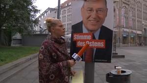 Anja Unterwegs - Was denkt Erfurt über die Bundestagswahlen - Teil I