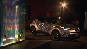 40 Jahre Gitter & der neue Toyota C-HR