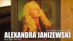 Alexandra Janizewski - Art Activist aus Thüringen