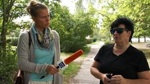 ANJA UNTERWEGS in Weimar-Schoendorf Teil 1