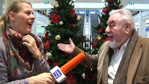 Klaus Damm bei Anja als Gast