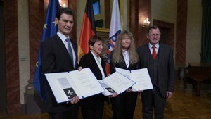 Ministerpräsident würdigt das Engagement dreier Thüringer