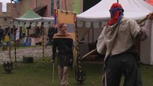 Mittelalterlicher Adventsmarkt in derOrdensburgLiebstedt