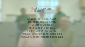 Druckerei Kühn in Apolda