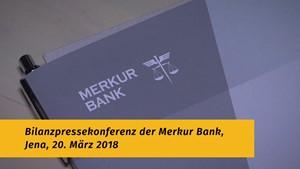 Bilanzpressekonferenz der Merkur Bank in Jena
