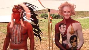 Goethe und Winnetou beim Sommerfest in Bad Sulza