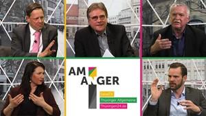 Wohin geht es mit den Tageszeitungen in Thüringen? - Sondertalk »Am Anger«