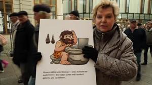 Demo für das Weimarer Museum für Ur- und Frühgeschichte