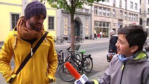 Was halten die Erfurter von Fridays for future - Ein Schüler auf Stimmenfang