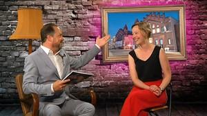 Die zukünftige Intendantin der Staatsoperette Dresden, Kathrin Kondaurow, zu Gast in Herrn Martins unkonventioneller Show.