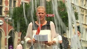 Über 500 Badetote in Deutschland 2018 - Anja unterwegs in Erfurt