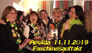 Faschingsauftakt in Apolda - 11.11.2019