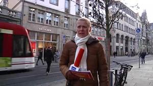 »Frag mich mal...« - Anja unterwegs in Erfurt.