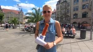 Urlaub 2020 - Anja unterwegs in Erfurt