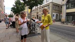 Dreh in den Sommer - Anja unterwegs in Erfurt