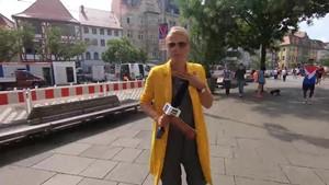 Gewissensfragen - Darf ich am Wahlsonntag zu Hause bleiben? - Anja unterwegs in Erfurt