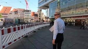 GEZ Erhöhung steht ins Hause - Anja unterwegs in Erfurt